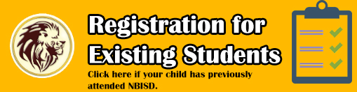 Registration for Existing Students