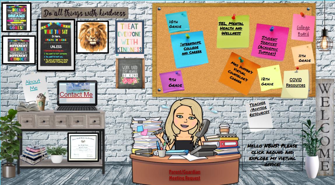 Mrs. Duffer's virtual office