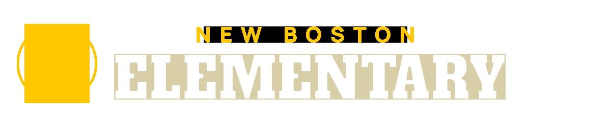 New Boston Elementary School Logo