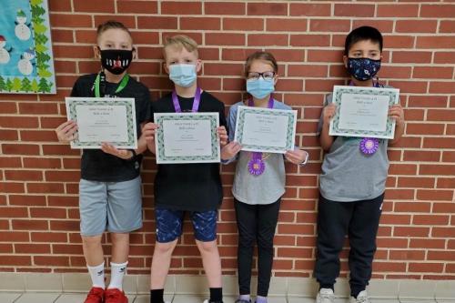Skill-a-thon winners! Elementary