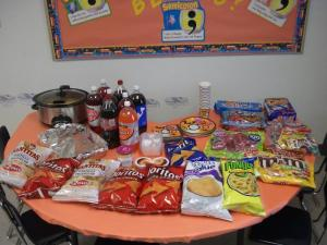 Our Party Stuff!!!