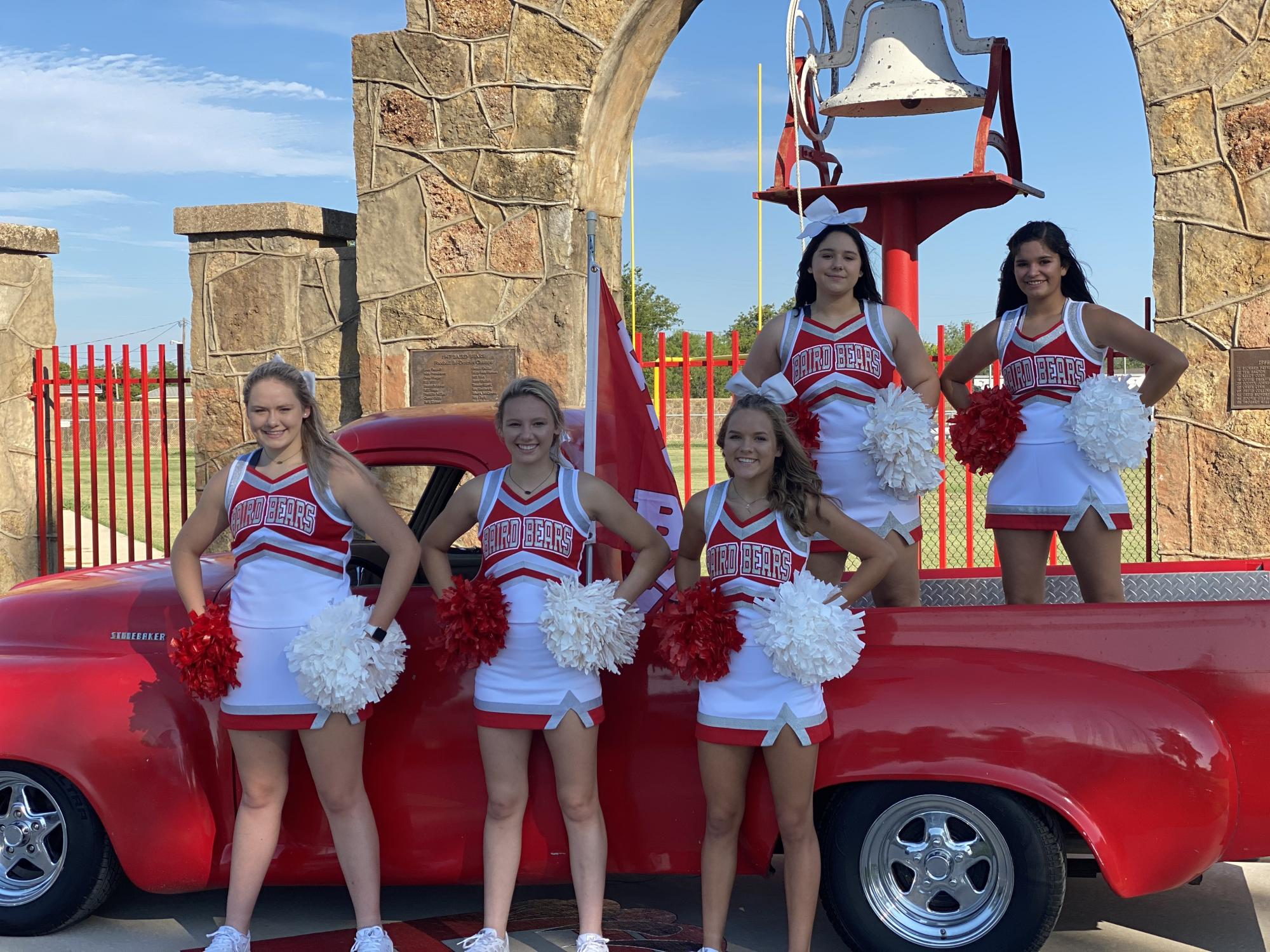Varsity Cheer Team 2020