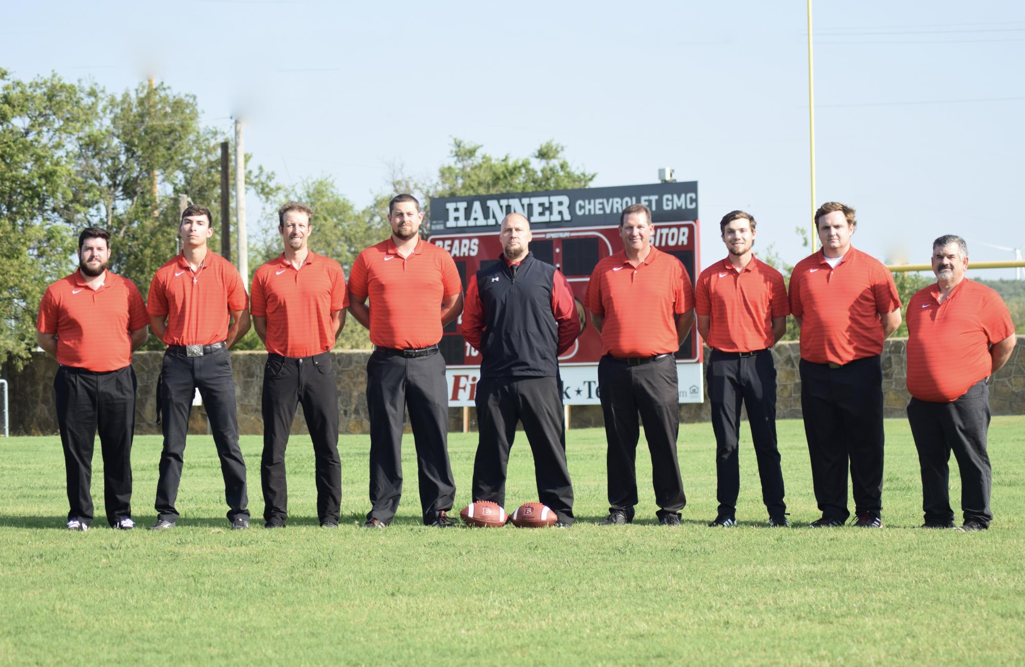 Football Coaching Staff
