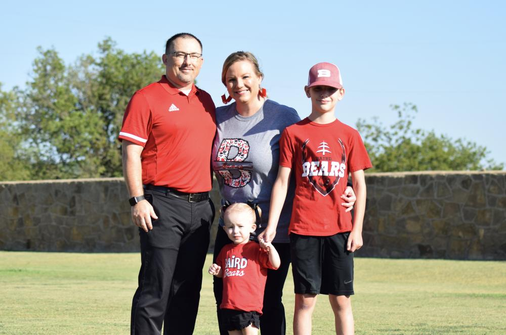 Cody Blair and Family