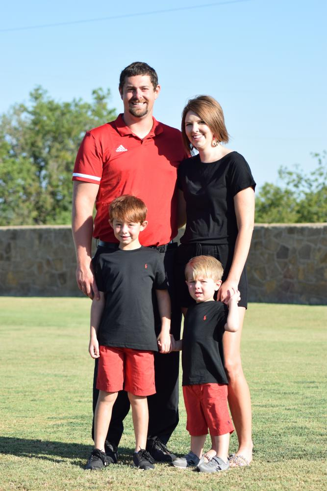 Teagan Brown and Family
