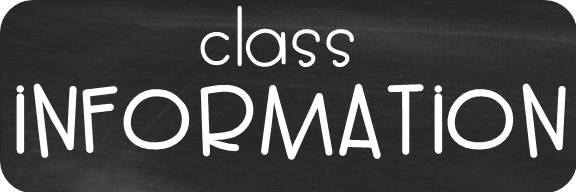 Class Infor,ation