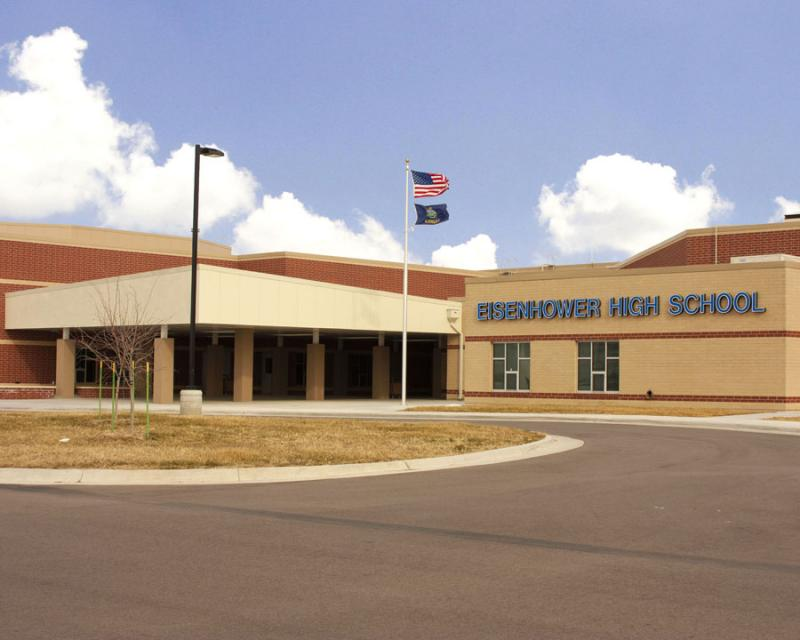 Landscape View facing Eisenhower High School