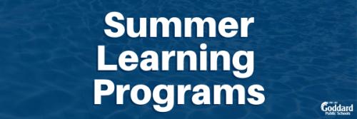 Summer Learning Programs 2020 Link to Register