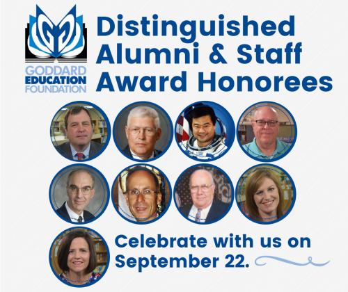 Distinguished Alumni & Staff Award Honorees