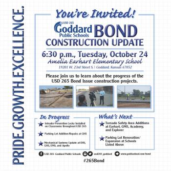 Bond Update Night - October 24