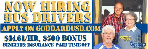Now Hiring Bus Drivers - $14.61/hour, $500 bonus after 90 days - Apply online