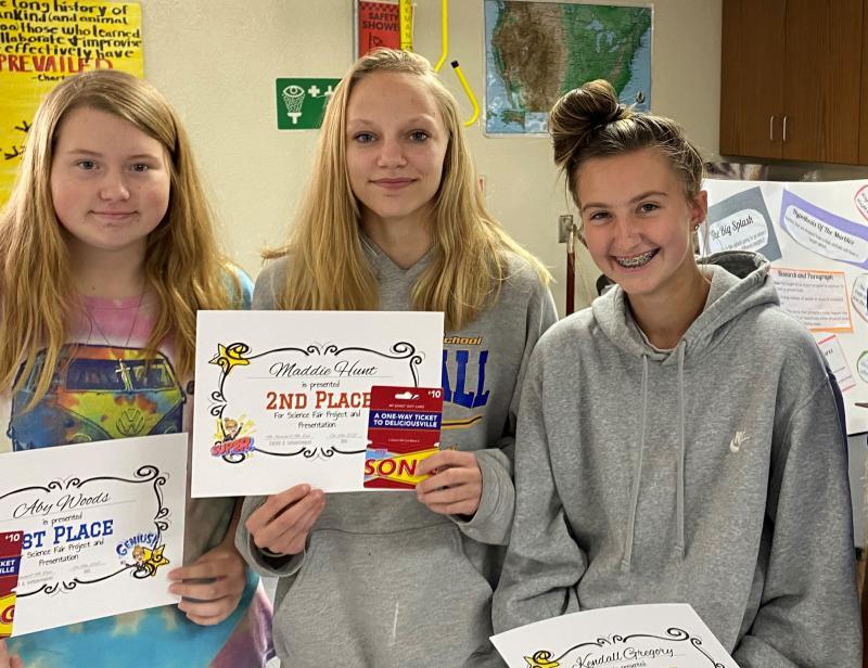 CHS Science Fair Winners