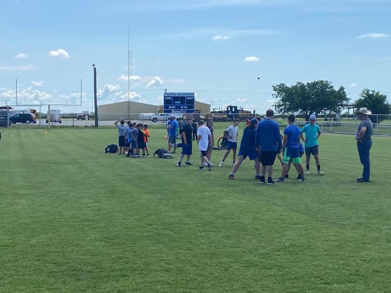 Youth Football Skills Camp