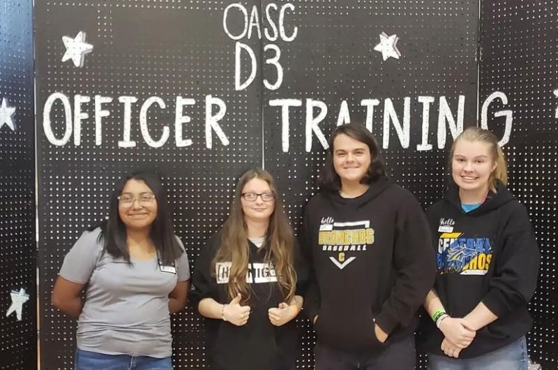 CHS Student Council Officers Attend Training in Duncan