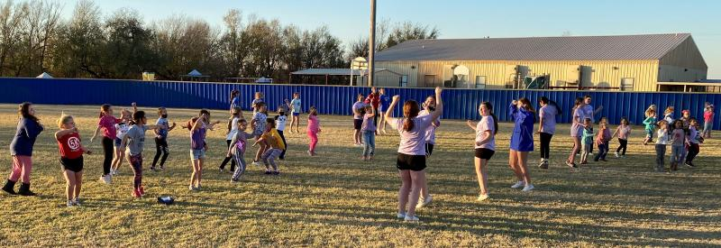 Mini-Cheer Clinic Sponsored by the CHS JH/HS Cheerleaders