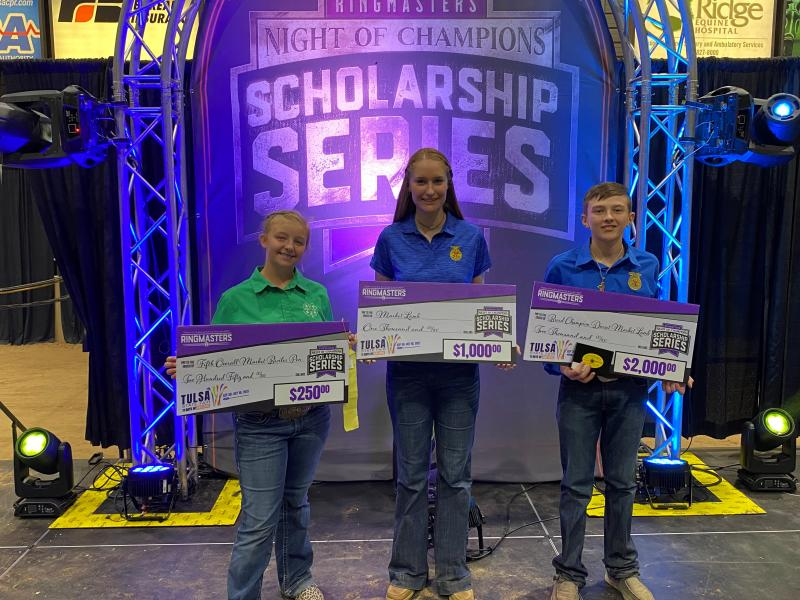 Central High FFA Members Have Success at the Tulsa State Fair
