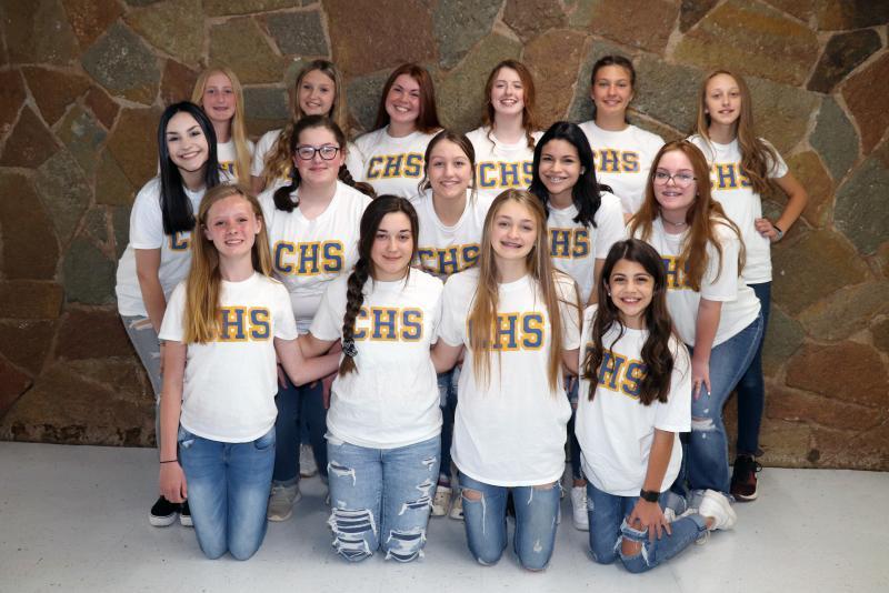 CHS Junior High and High School Cheerleaders Announced