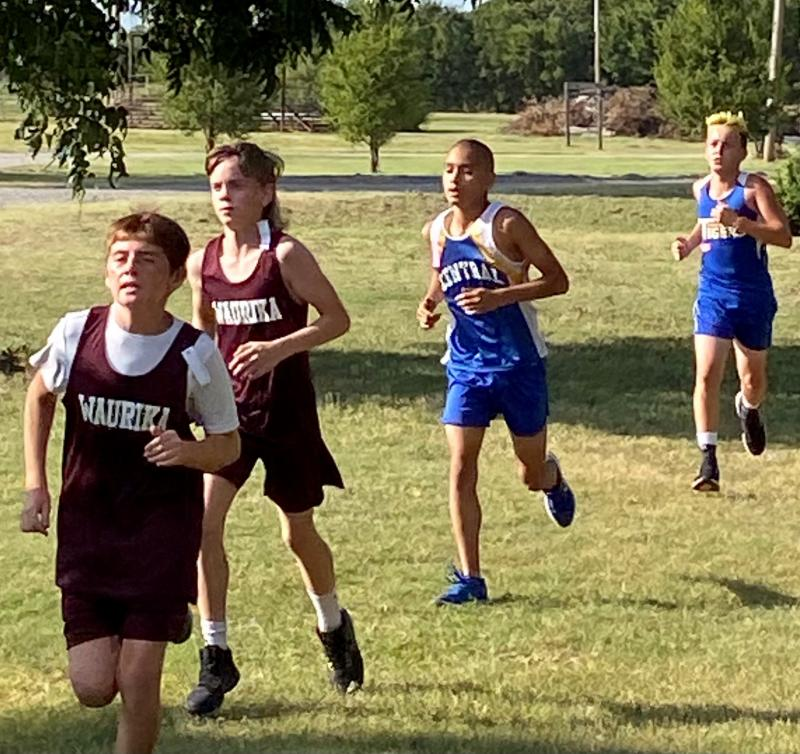 Central High XC Runners Compete Well at Walters