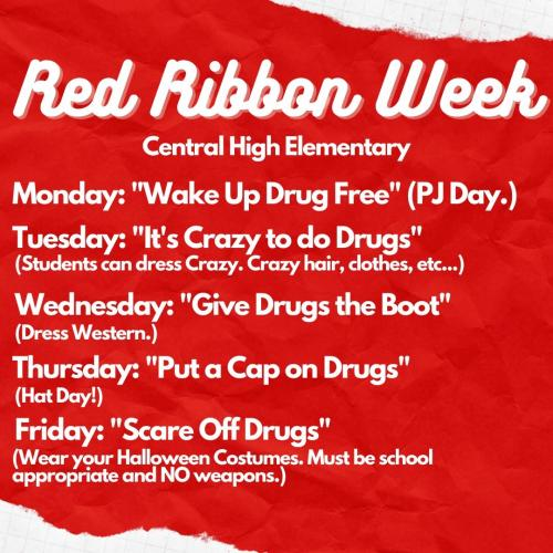 Red Ribbon Week EL
