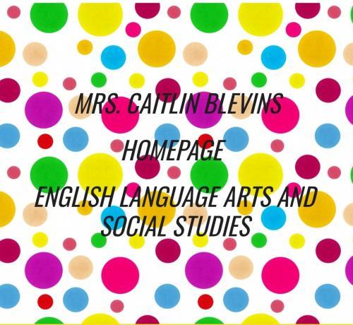 Ms. Blevins' Classroom