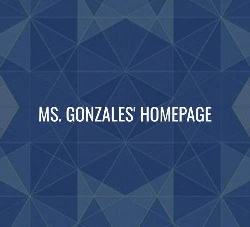 Ms. Gonzales' Class