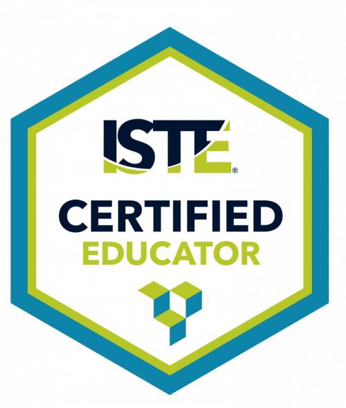 ISTE certified Educator