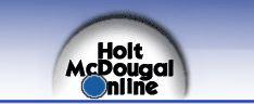 Holt McDougal Online Textbook