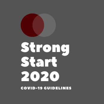 Strong Start 2020 (COVID-19) Handbook now available