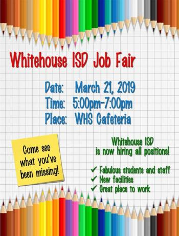 Whitehouse ISD hosting Job Fair