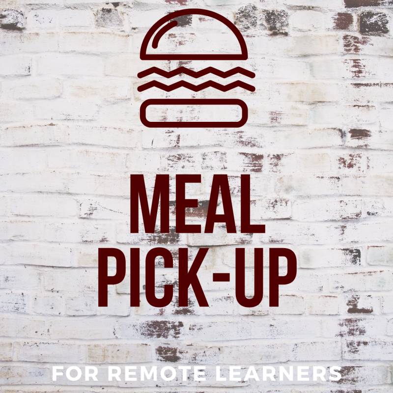 Meal Pick-Up for Remote Learners