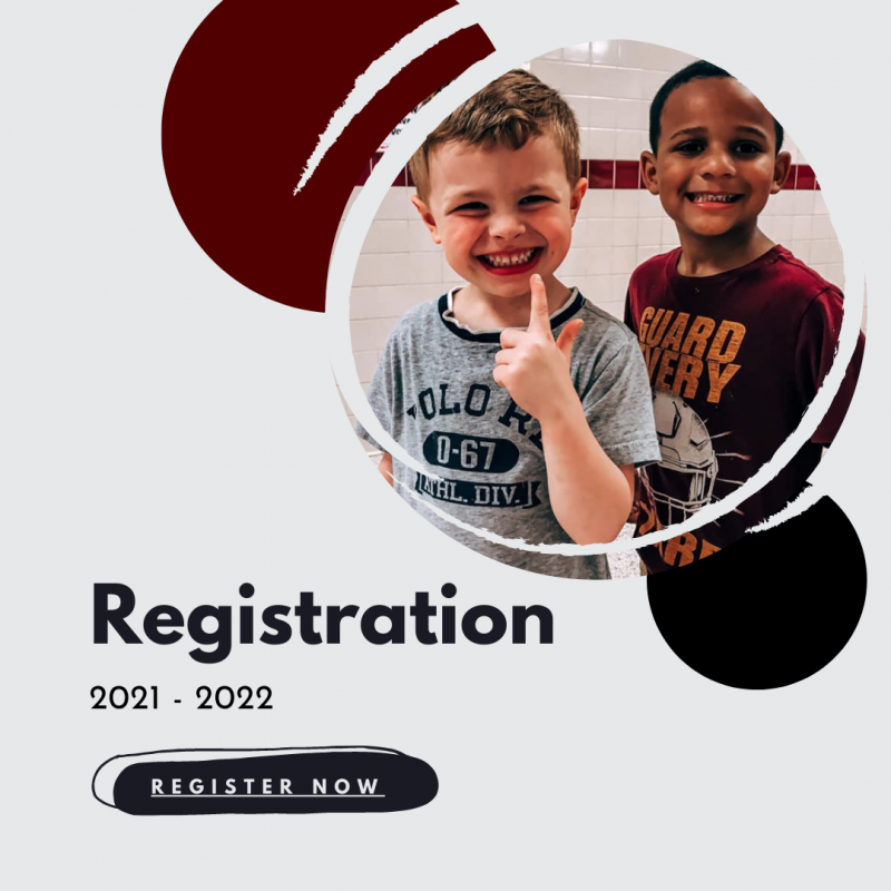 New student registration begins April 1st, 2021