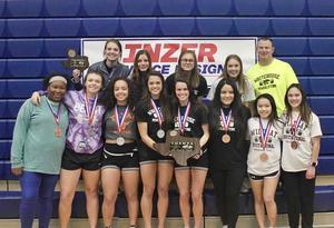 Ladycats Powerliftng team wins Region 3 Powerlifting Meet!