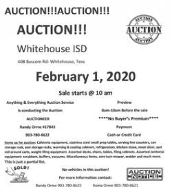 WISD is hosting an auction