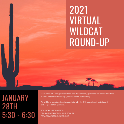 2021 Virtual Wildcat Round-Up