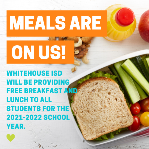 Free meals offered at Whitehouse ISD