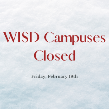 No school for Friday, February 19th
