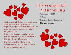 Sweetheart Ball - Mother/Son Dance