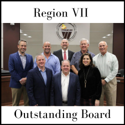 WISD Board of Trustees named Region 7's 'Outstanding Board!'