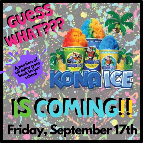 Kono Ice Day TOMORROW