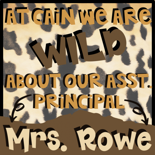 Let's Celebrate our awesome Assistant Principal