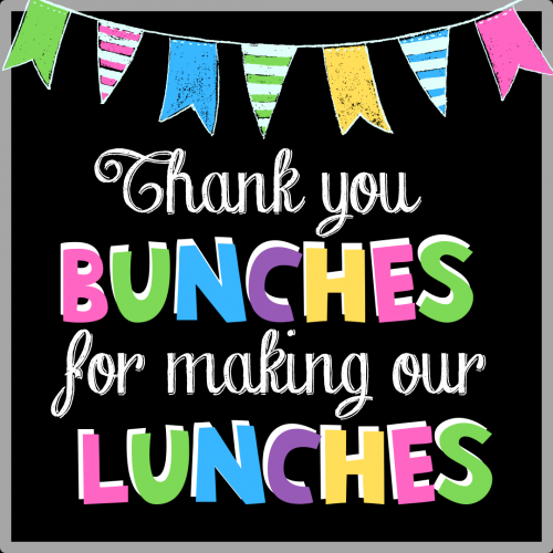 School Cafeteria Appreciation Day