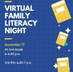 Virtual Family Literacy Night