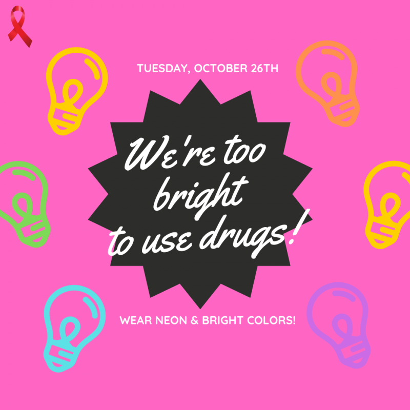 Red Ribbon Week - Tues., Oct. 26th