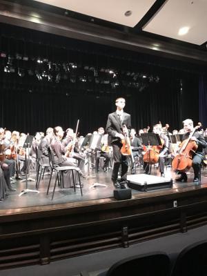 Landon Roy, KMEA District Orchestra Concertmaster 2019
