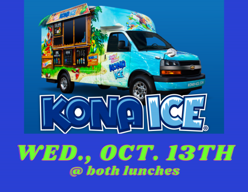 Kona Ice Oct 13th