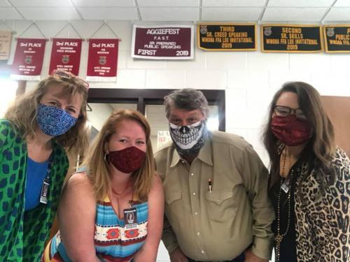 2020 Staff Masks