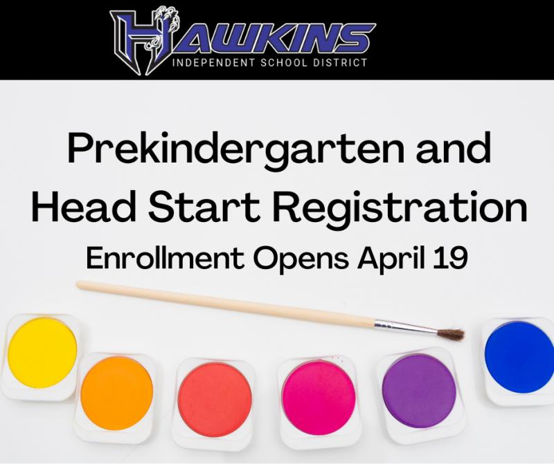 Pre-K /Head Start Registration