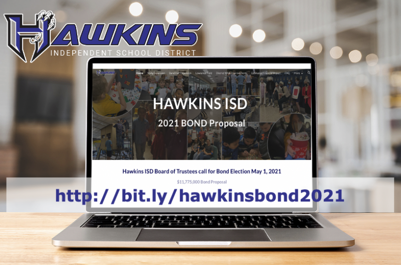 Hawkins ISD Board of Trustees calls for $11,775,000 bond for the May 1 Election