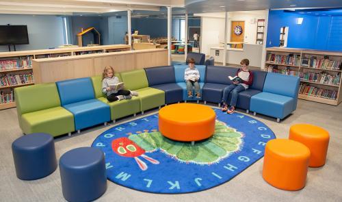 Hawkins Elementary Library