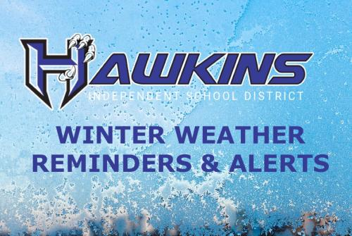Winter Weather Reminders and Alerts